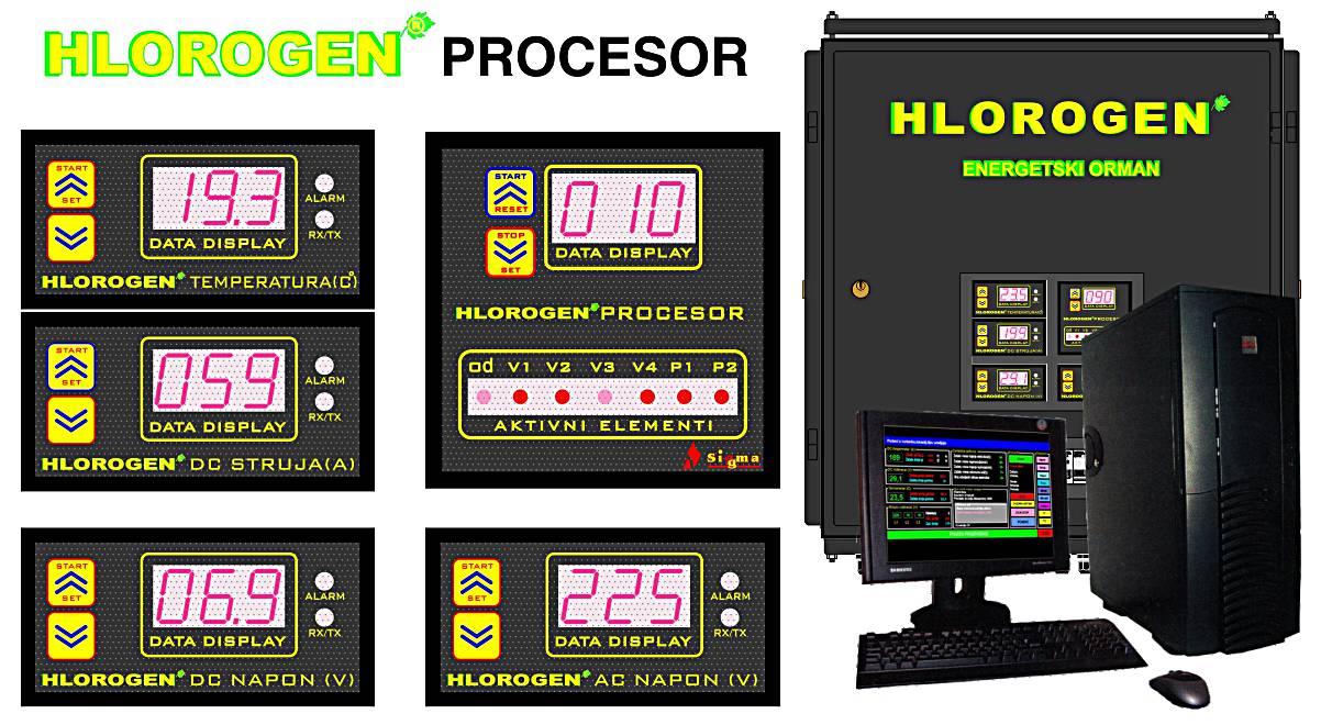 HLOROGEN_procesor
